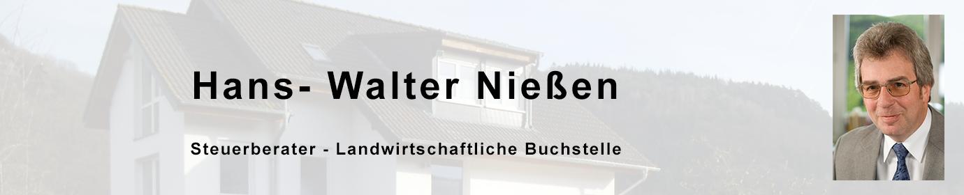 Hans-Walter Nießen Steuerberater - Landwirtschaftliche Buchstelle
